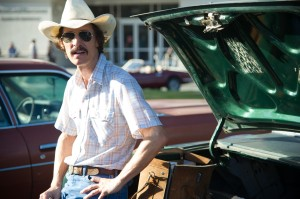 The Dallas Buyers Club Matthew McConaughey