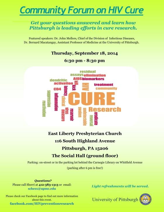 Cure Forum Flyer